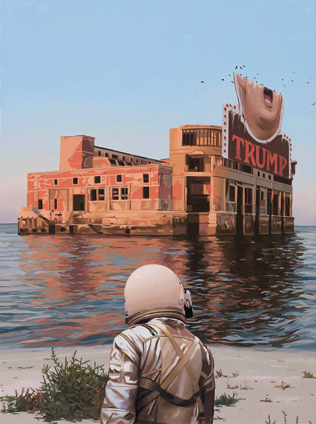 Scott Listfield - Empty Palace (Trump)