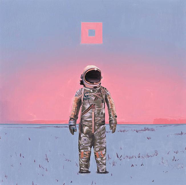 Scott Listfield - Pink Square
