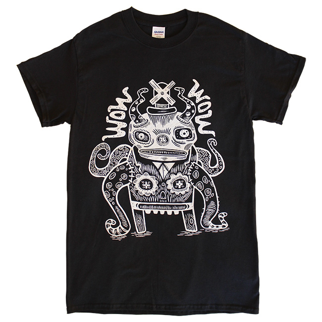 WOW x WOW Unisex Dude T-Shirt (Designed by Tim Lee)
