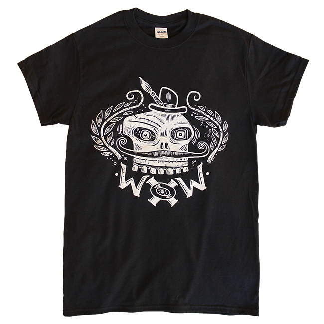 WOW x WOW Unisex Skully T-Shirt (Designed by Tim Lee)