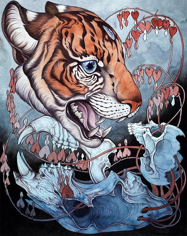 Caitlin Hackett – Contemporary Mythology – Artist Profile