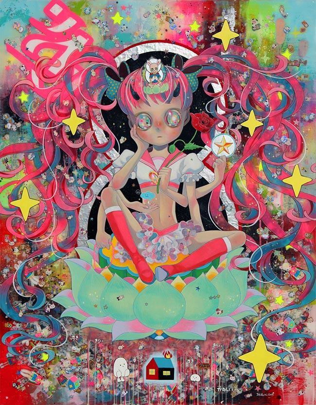 Hikari Shimoda - Our God - Nyoirin Kannon Bosatsu