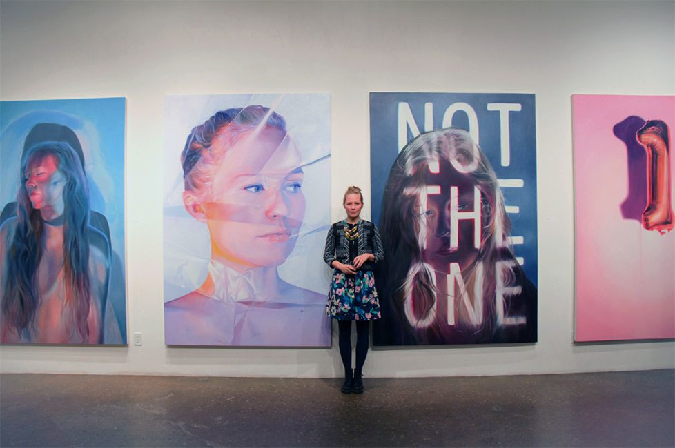 Jen Mann - Artist at Gallery