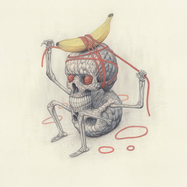 Nick Sheehy - Skull Man Banana