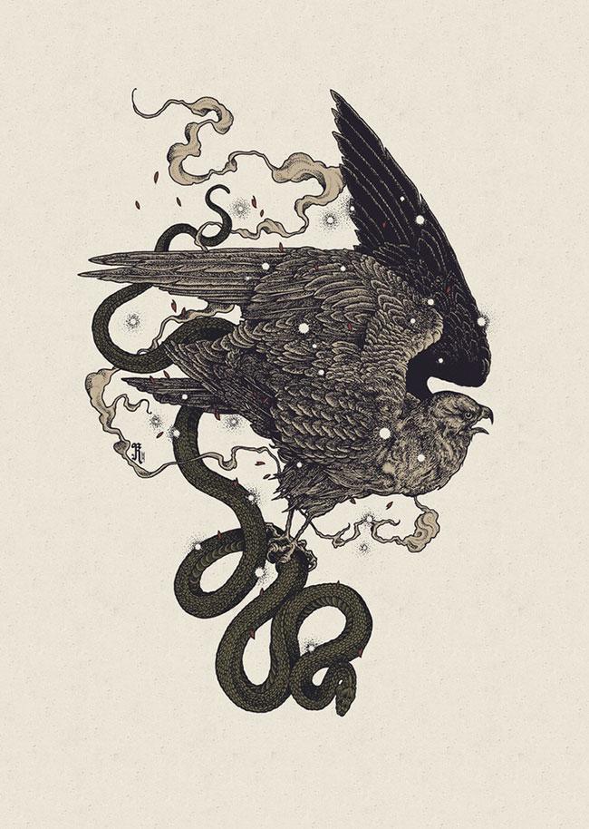 Richey Beckett - Bird of Prey