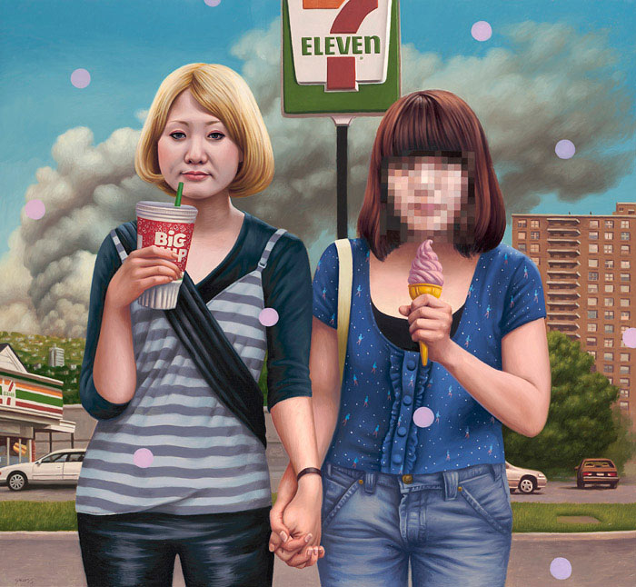 Alex Gross - Best Friends (7-Eleven)