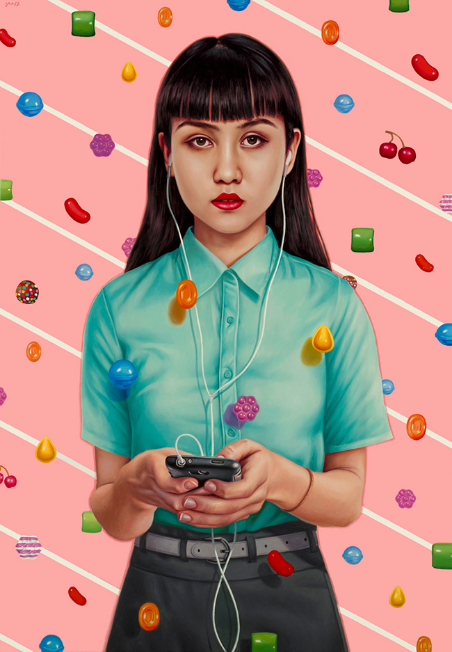 Alex Gross - Candy Crush