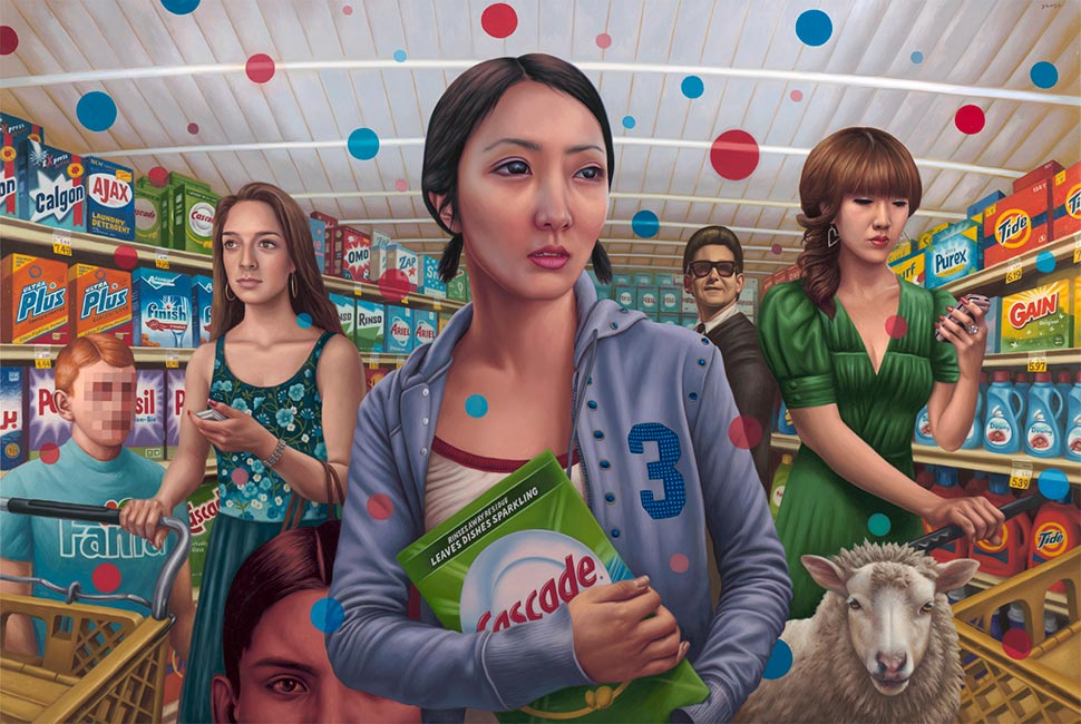 Alex Gross - Cascade
