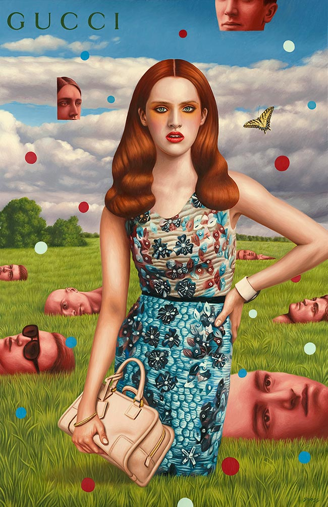 Alex Gross - Gucci