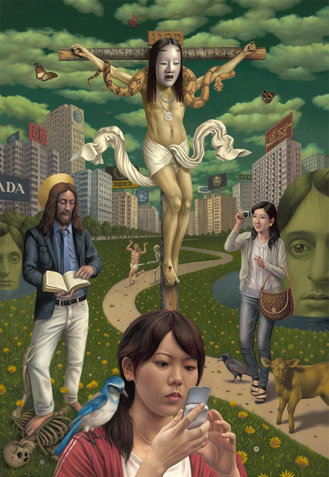 Alex Gross - Mammon