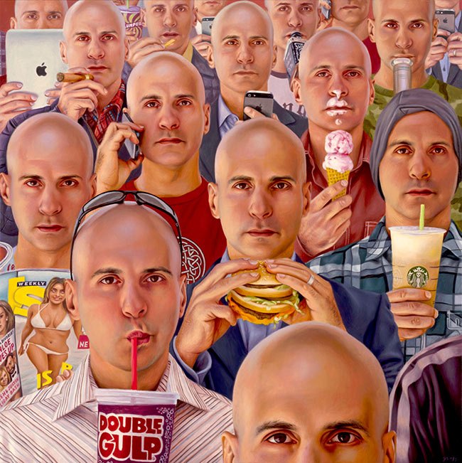 Alex Gross - Narcissism