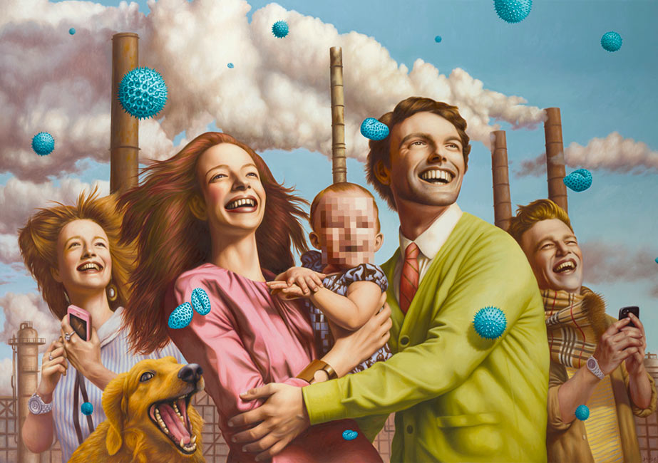 Alex Gross - Spores