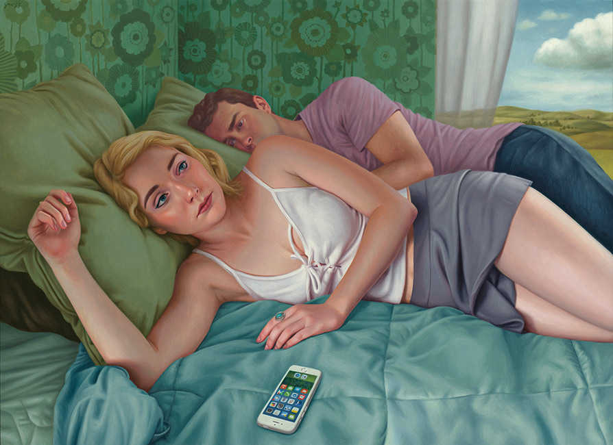 Alex Gross - Suspicion