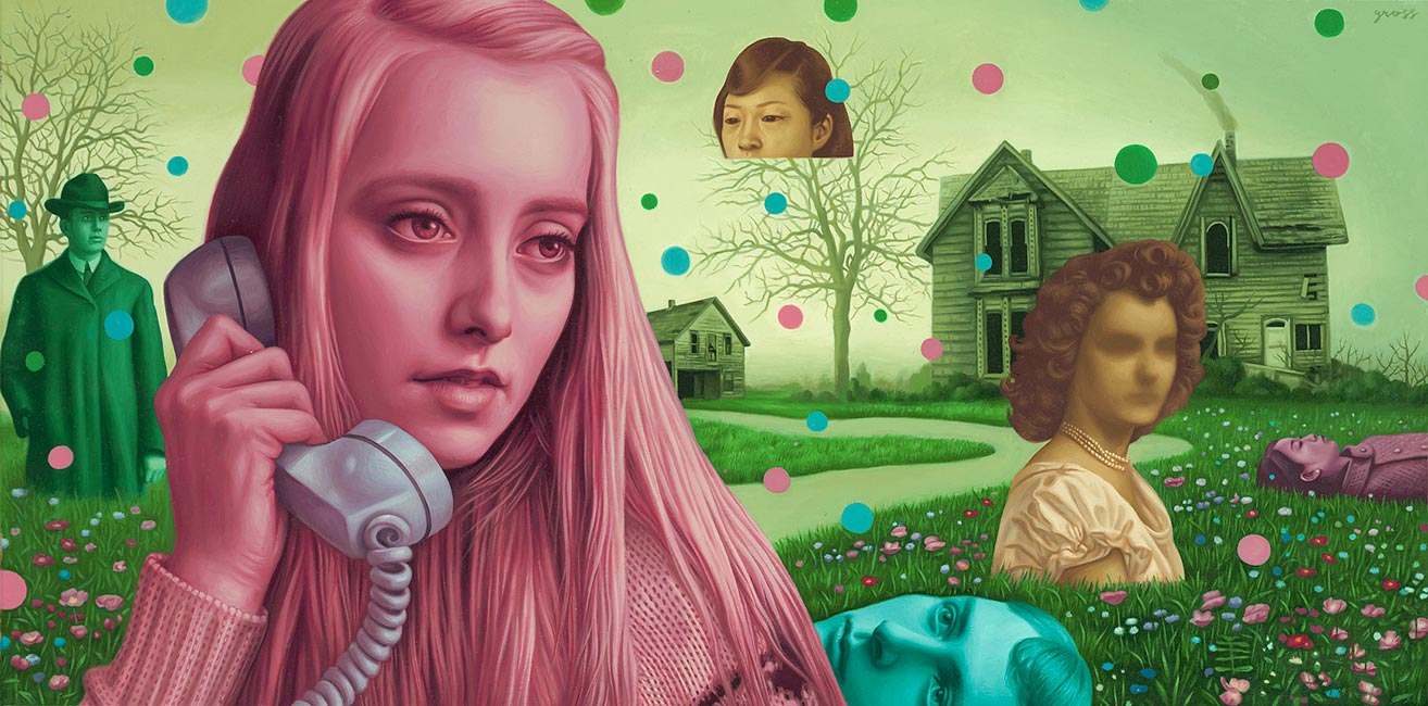 Alex Gross - The Bends