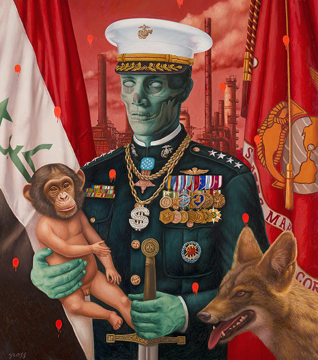 Alex Gross - The Jackal