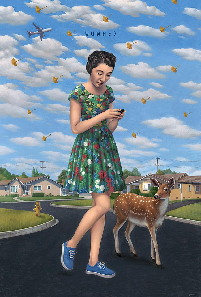 Alex Gross - Wish You Were Here