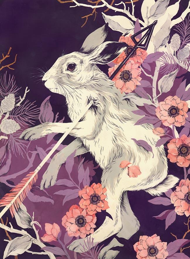 Teagan White - Hellebore, Milkweed, Hare (This Won't Last Very Long)