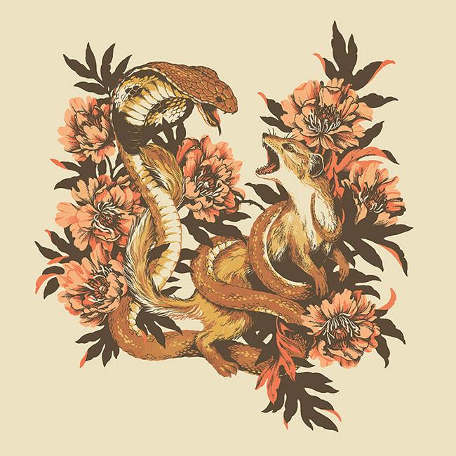 Teagan White - Snake & Mongoose