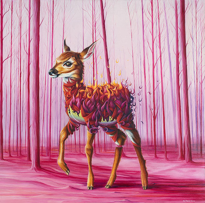 Ewa Pronczuk-Kuziak - The Still Life series - Who Killed Bambi