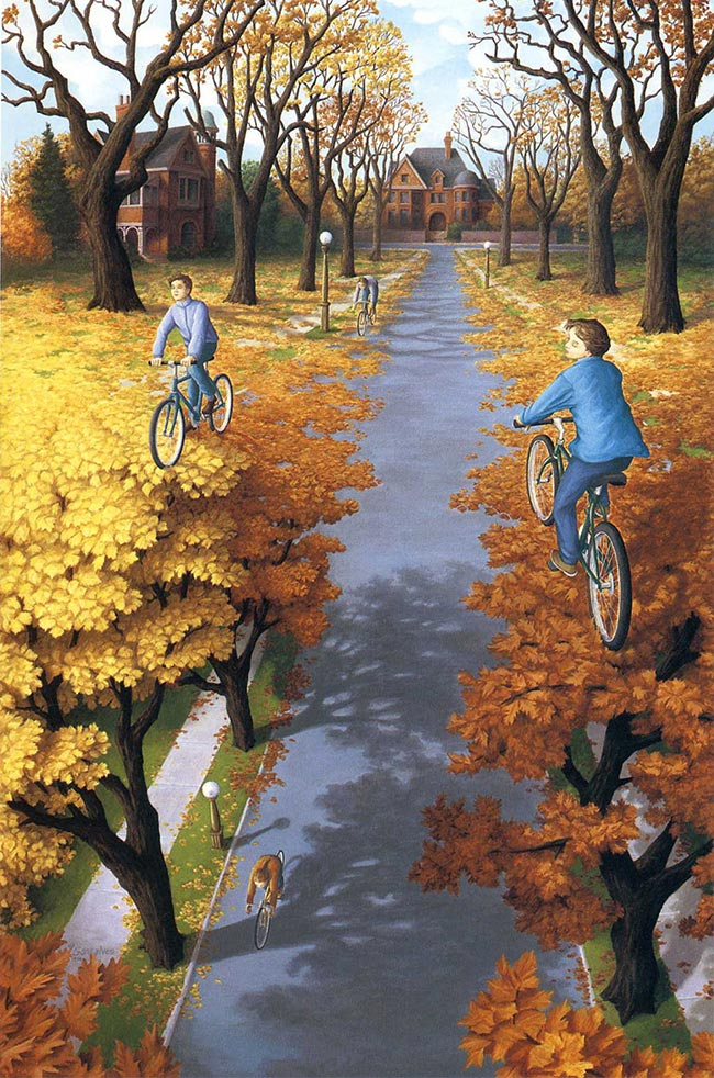Rob Gonsalves - Autumn Cycling