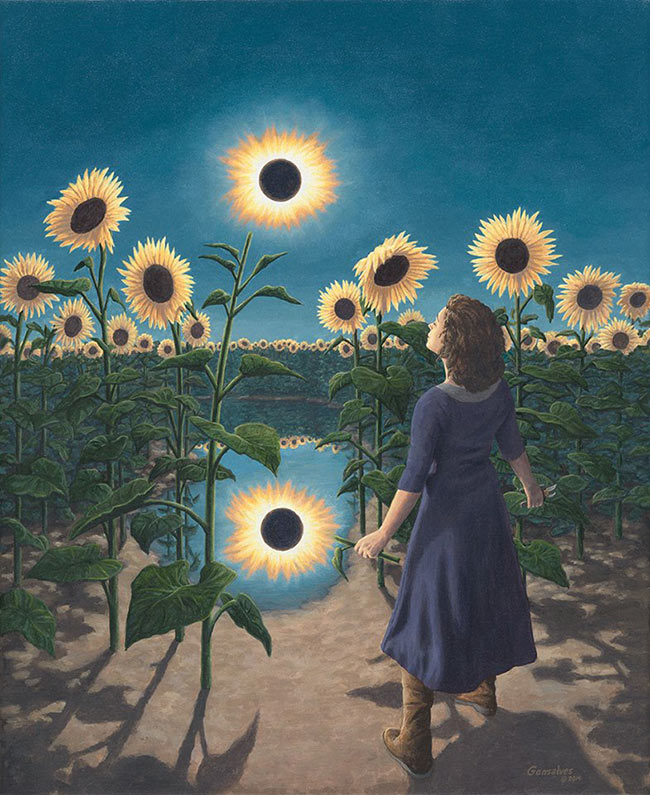 Rob Gonsalves - Eclipse Flower
