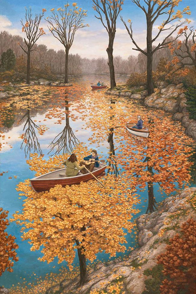 Rob Gonsalves - Fall Floating