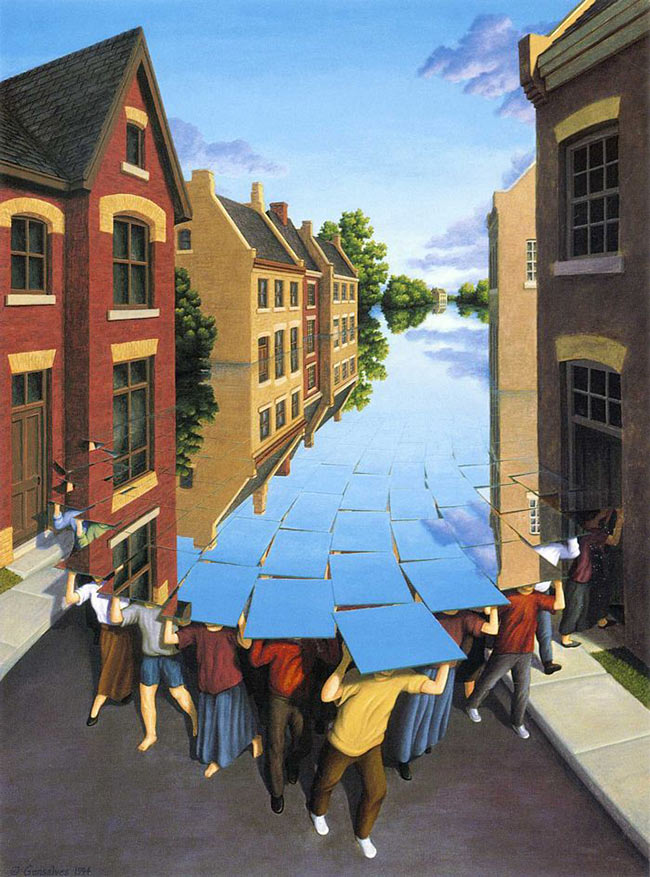 Rob Gonsalves - Here Comes the Flood