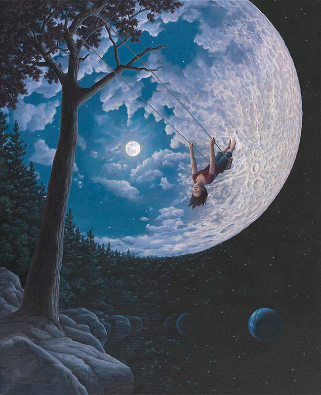 Rob Gonsalves - Over the Moon