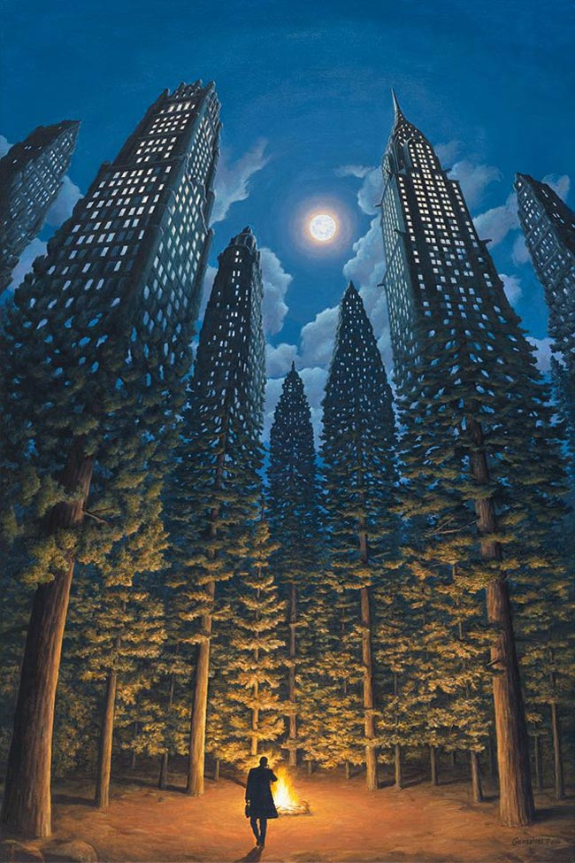 Rob Gonsalves - The Arboreal Office