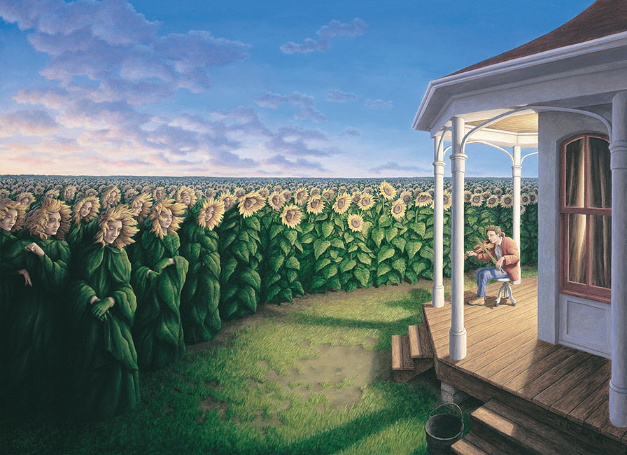 Rob Gonsalves - The Listening Fields