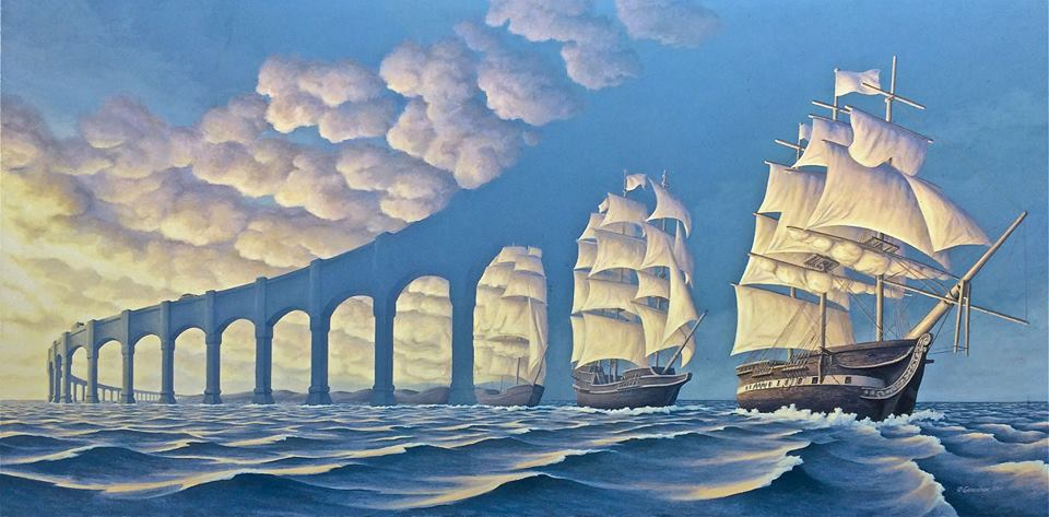 Rob Gonsalves - The Sun Sets Sail