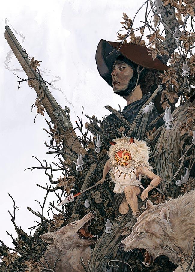 AJ Frena - Princess Mononoke