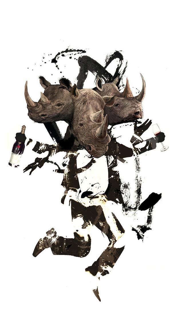 AJ Frena - Rhinoceros