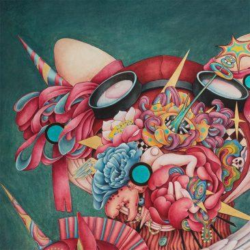 Alice Lin - I Love Unicorn (Detail 1)