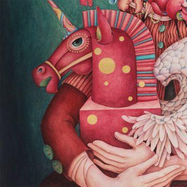 Alice Lin - I Love Unicorn (Detail 3)