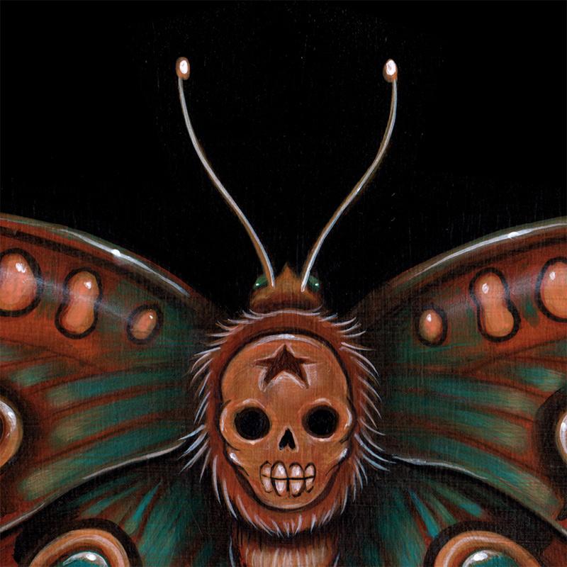 Caia Koopman - Calavera Lepidoptera (Detail 1)