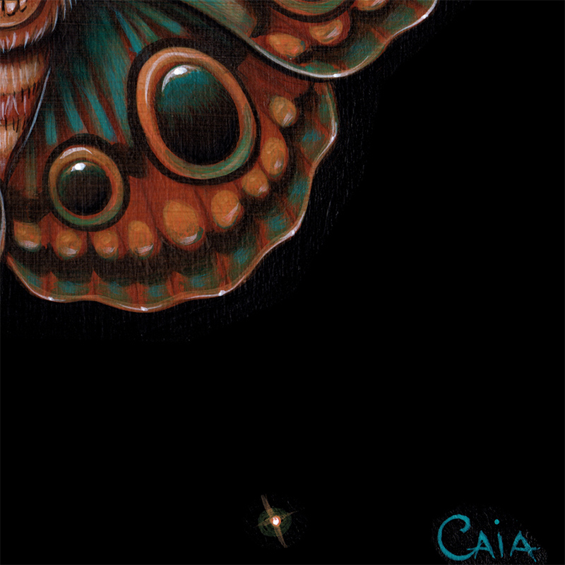 Caia Koopman - Calavera Lepidoptera (Detail 2)