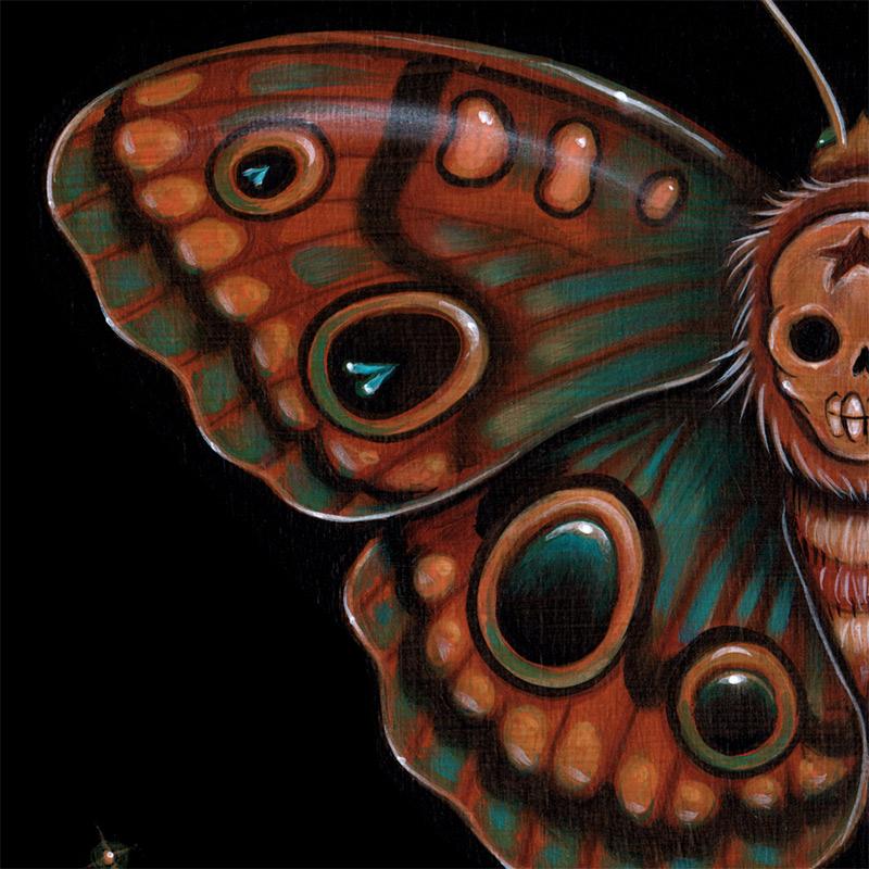 Caia Koopman - Calavera Lepidoptera (Detail 3)