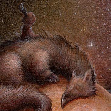 Dan May - Drifting Through the Cosmos (Detail 2)