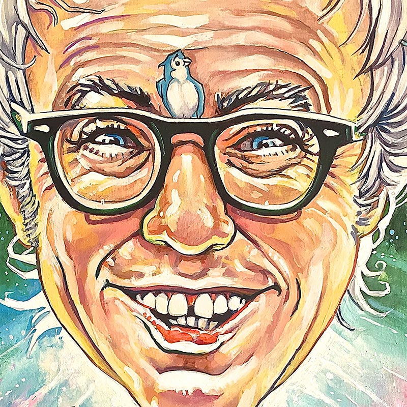 Dave MacDowell - Bernie of Oz (Detail 1)