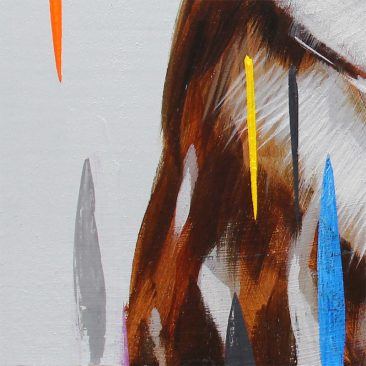 Frank Gonzales - Burrowing Owl (Detail 2)
