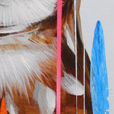 Frank Gonzales - Burrowing Owl (Detail 4)