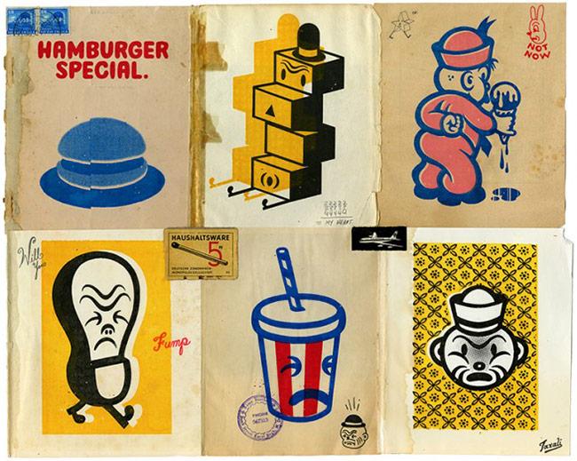 Gary Taxali - Hamburger Special