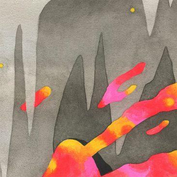 Graham Yarrington - Cave Dweller (Detail 4)