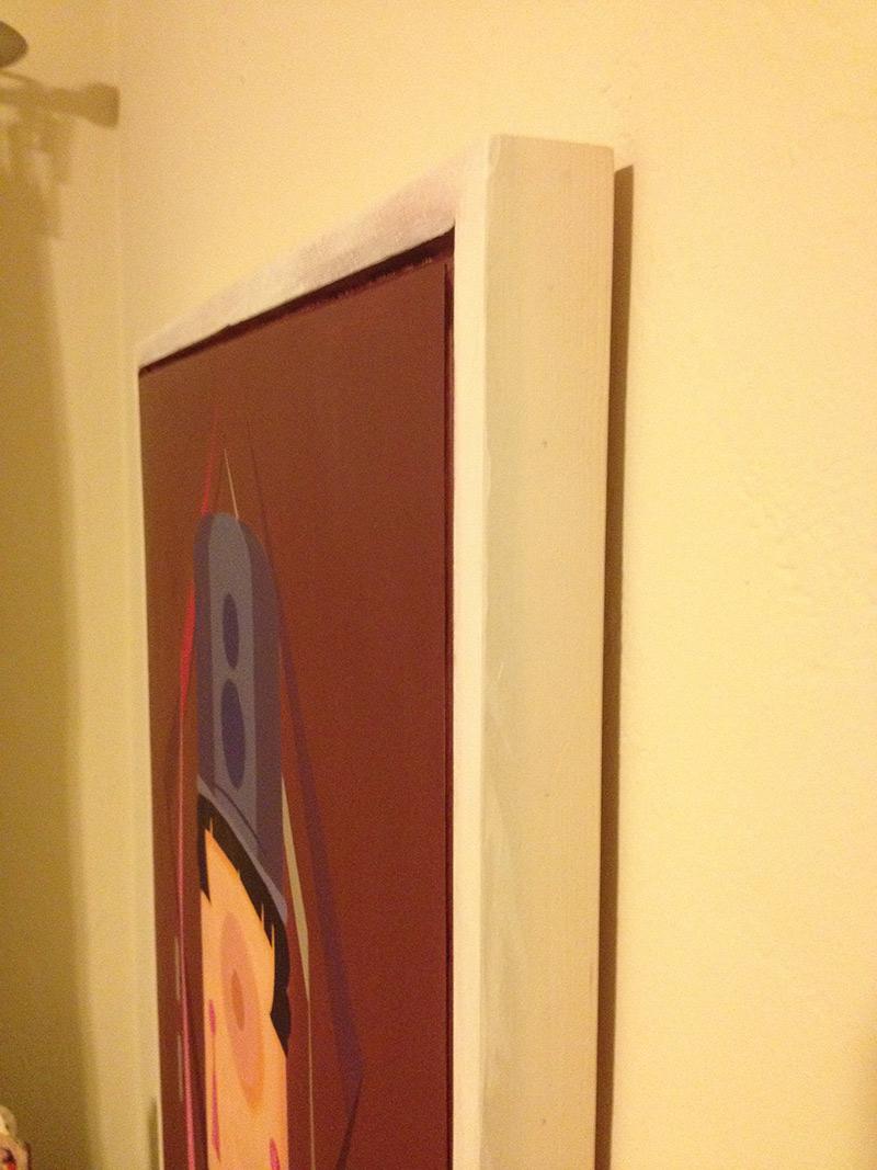Jophen Stein - Candy Striped Pole Vaulter, Deux (Frame)