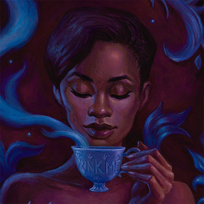 Mia Araujo - Drink Me (Detail 1)