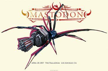 Robert Bowen - Mastodon Poster