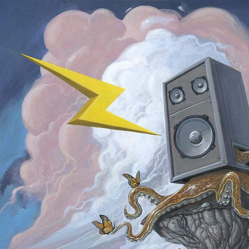 Roland Tamayo - Vintage Speaker (Detail 2)