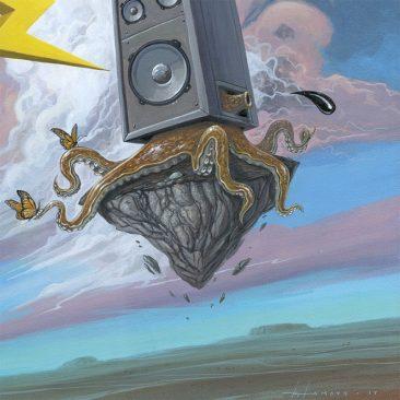 Roland Tamayo - Vintage Speaker (Detail 3)