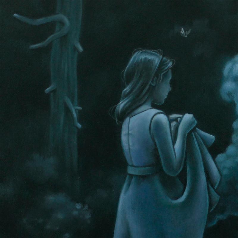 Tara Krebs - Where There's Smoke There's Fire (Detail 1)